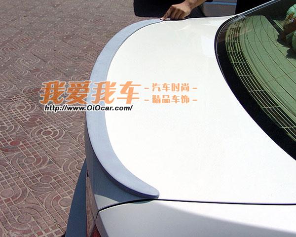 bmw宝马 e90 华晨宝马新3系 原装位hamann款改装尾翼高清图片