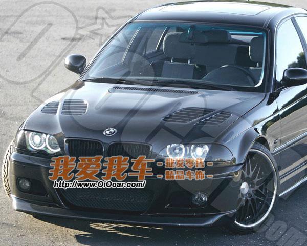 BMW宝马E46 老3系 GTR改装款纯碳纤维材质引擎盖 BMW E46 GTR 高清图片
