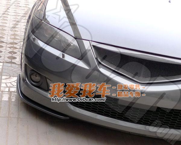 马自达6轿跑专用 autoexe款2片式改装前下巴扰流板 下铲 高清图片